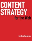 Cover of 'Content Strategy for the Web' by Kristina Halvorson