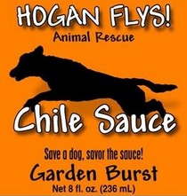 Hogan Flys Chile Sauce label